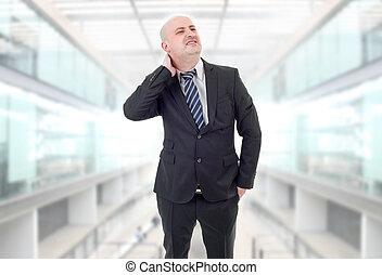 businessman back pain