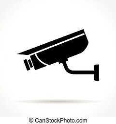 security camera icon - Illustration of security camera icon...