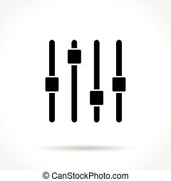 controller icon on white background - Illustration of...