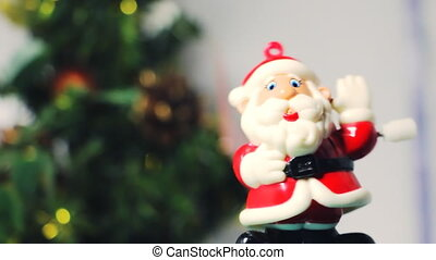 Christmas Santa Claus toy dancing 1 - Dancing Santa toy next...