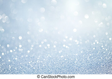 Błękitny, Abstrakcyjny, światła, zamazany, tło, boże...