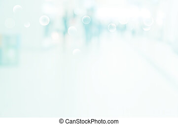 abstract blur background of shopping mall with unrecognizable silhouettes of people