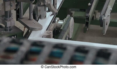 Line production of plastic windows in full HD