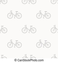 Bicycle pattern seamless