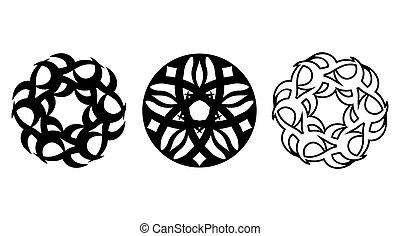 Three floral spheres.eps