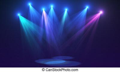 Concert stage lights (super high resolution)