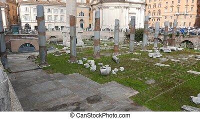 Forum Traiano, Roma, Italy. UltraHD (4K)