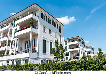 Modern multi-family houses in Berlin - Modern multi-family...
