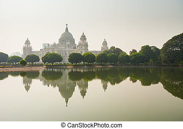Victoria Memorial, Kolkata - The Victoria Memorial in...