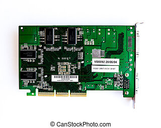 Vedeocard NVIDIA GeForce FX 5200. - GOMEL, BELARUS - JULY...