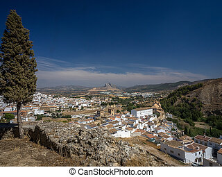 Antequera town, Spain - The historic town of Antequera,...
