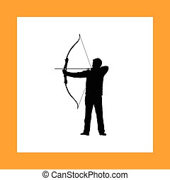 archer bow arrow