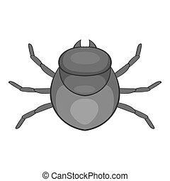 Harvest bug icon, cartoon style - Harvest bug icon. Cartoon...