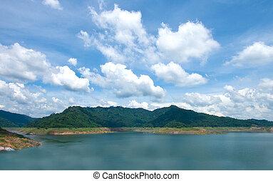 Khun Dan Prakarnchon Dam of Thailand