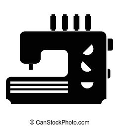Sewing machine icon, simple style - Sewing machine icon....