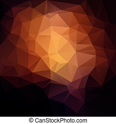 Awesome abstract triangle illustration. - Awesome abstract...