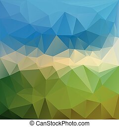Abstract triangle background in vector graphics. - Abstract...