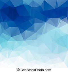 Abstract poligonal background in vector graphics. - Abstract...