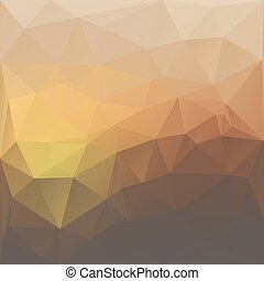 Awesome abstract poligonal illustration. - Awesome abstract...