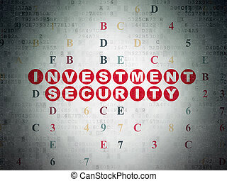 Protection concept: Investment Security on Digital Data...