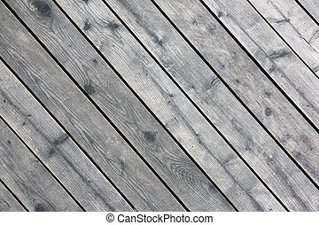 wooden planks - grey wooden planks on the wall