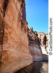 Colorado river. Arizona.USA