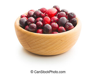 The tasty american cranberries. - The tasty american...
