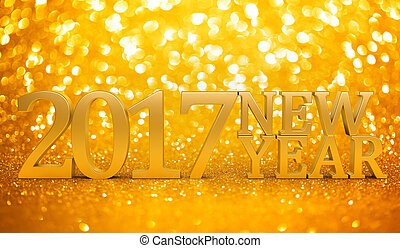 2017 New years glitter background