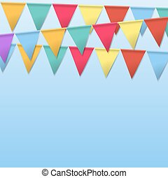 Bunting Flags for Holidays