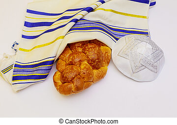 Jewish holiday Fresh Challah Bread for a  Celebration
