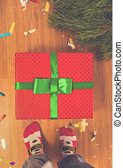 Merry Christmas Celebration - Merry Christmas. Gifts under...