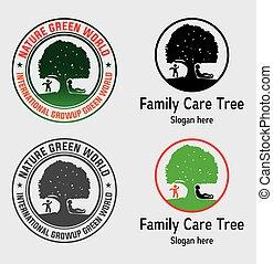 Family Care Tree Logo