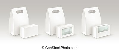 Lunch Boxes For Sandwich with plastic windows