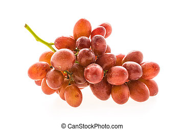 Grape fruit isolated on white background