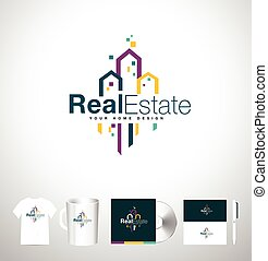 Real Estate Building. Real Estate Logo - Real Estate...