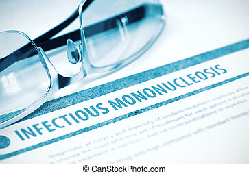 contagioso, Medicina, Ilustración,  mononucleosis,  3D