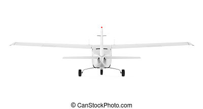 Light Aircraft Isolated