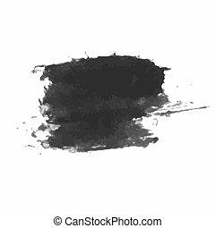 Grunge Brush Stroke - Grunge Distressed Modern Textured...