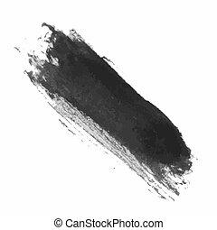 Grunge Brush Stroke - Grunge Vector Distressed Modern...