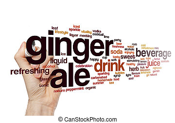 Ginger ale word cloud