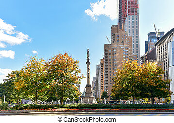 Columbus Circle - New York City