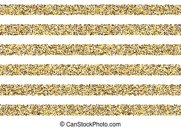 Gift glitter vector striped pattern. Straight striped from...