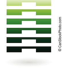 Striped Abstract Icon