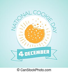 4 december National Cookie Day - Calendar for each day on...