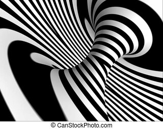 Abstract spiral background - Abstract background in black...