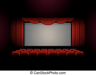 theater stage curtain background