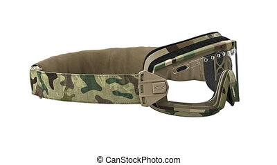 Military goggles, camouflage - Military goggles camouflage,...