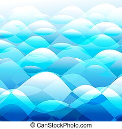 Background vector water