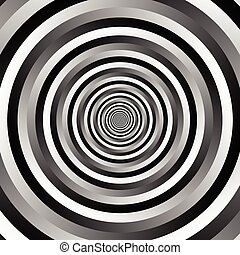 patrón, grayscale, Plano de fondo, círculos, onda,...