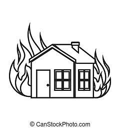 house insurance concept icon